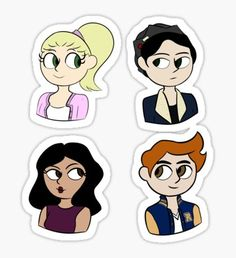 Riverdale Crew Sticker