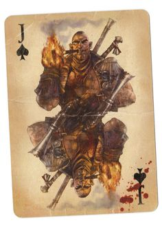 Fable Cards- Jack of Spades by Frostbite-Melody.deviantart.com on @deviantART