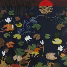 Milling at Millstream by Helen Ansell Water Lilies, Flower Art, Art Flowers, Nativity, Photo Art, Contemporary Art, My Arts, Cartoon, My Favorite Things