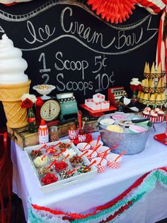 Ice Cream Summer Party!  See more party planning ideas at CatchMyParty.com!