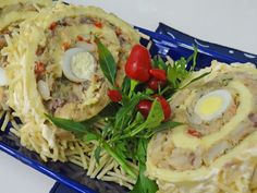 Rocambole de Festa com Recheio de Bacalhau | Doces e sobremesas > Receitas de Rocambole Doce | Mais Você - Receitas Gshow