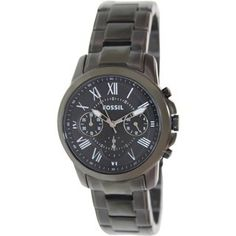 Fossil Men's 'Grant' Stainless Steel Chronograph Watch  fc0275690559