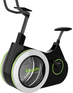 The Real Tumble Dry - So loving this Bike Washing Machine concept! The ideal way to exercise and get laundry done at one go! How effective will the cleaning be? That depends on how good you are at cycling, isn't it!    link