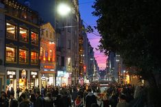 İstiklal Caddesi at dusk, on a Saturday evening Best For Last, Blue Mosque, Grand Bazaar, Second World, Great View, Public Transport, City Life, Dusk, Istanbul