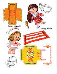 Paper Dolls~Liddle Kiddles Press Out Book - Bonnie Jones - Picasa Webalbum
