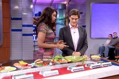 Jennifer Hudson's Weight Loss Recipes, Pt 2: Jennifer Hudson walks Dr. Oz through her daily diet. Find out her favorite foods and learn how you can eat smarter. Click...