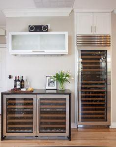 Wine storage, wine refrigerator, wine fridge | All About Wine in Kirkland by Model Remodel, Seattle, WA