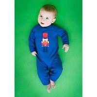 """Baby jumpsuit """"Fonne"""" cobalt blue soldier"""
