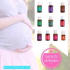 10 essential oils for pregnancy