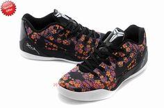 1f2e8230a26c Nike Zoom Kobe 9 Flower Black White Purple Orange1 Kobe 9