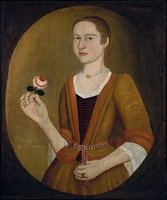 Attributed to Pieter Vanderlyn | Young Lady with a Rose | The Met