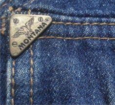 Indigo, Nostalgia, Retro, Jeans, Montana, Childhood, Vintage, Logo, Denim