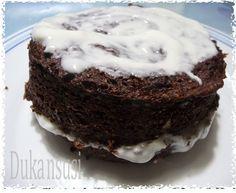 Recetas Dukan - Dukansusi: Brownie Dukan Dukan Diet, Paleo Diet, I Foods, Food To Make, Cheesecake, Low Carb, Sweets, Healthy Recipes, Chocolate