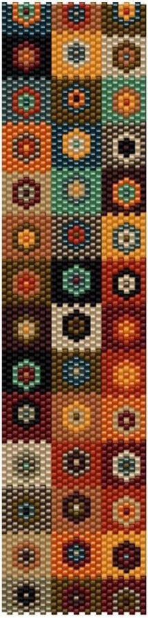 Peyote Beading Patterns, Peyote Stitch Patterns, Seed Bead Patterns, Beaded Bracelet Patterns, Weaving Patterns, Loom Beading, Jewelry Patterns, Beaded Jewelry Designs, Seed Bead Jewelry
