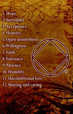 Narcotics Anonymous spiritual principles