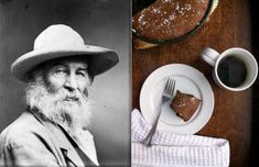 Pairing authors with foods mentioned in their works, letters or journals....such as  Walt Whitman and cranberry coffee cake!