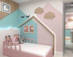 Resultado de imagem para quarto de menina cama casinha