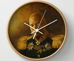 Samuel Jackson Wall Clock - Snakes on a Plane? No problem. Django and the dentist seem a little fishy? He's got a plan. Quoting fictional verses before popping a cap? He's your man. Samuel Jackson needs his place on your wall with this Samuel Jackson Wall Clock #samueljackson