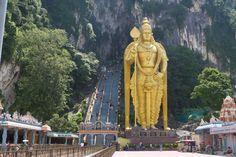 Fotka, Foto Jeskyně Batu poblíž Kuala Lumpuru (Malajsie)