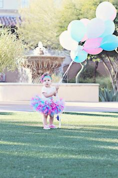 Baby Girl1st Birthday Petti Tutu SetBirthday by ChristiCreations, $69.95