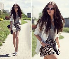 Sleek and chic! (by Katerina Kraynova of Neon Rock #KaterinaKraynova