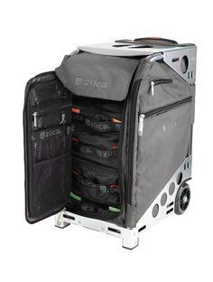 doula bag- Pro Travel Graphite Gray/Silver : ZÜCA Store