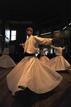 The Mevlevi seek communion with God through their whirling dance. Turkey. Photo by Ryno Sauerman (ryno)