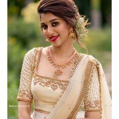 Muse - my gorgeous friend MUA - Jewelery - Photographer - Half Saree Designs, Silk Saree Blouse Designs, Fancy Blouse Designs, Bridal Blouse Designs, Lehenga Designs, Wedding Dress Men, Indian Wedding Outfits, Indian Designer Outfits, Designer Dresses