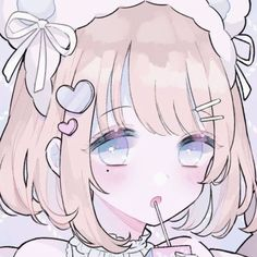 Cute Anime Chibi, Cute Anime Pics, Anime Girl Cute, Kawaii Anime Girl, Anime Girl Pink, Anime Girl Drawings, Kawaii Drawings, Cute Drawings, Art Anime