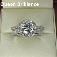 Ring. 1.5 Carat Engagement Wedding Lab Grown Moissanite Ring With Moissanite Diamond Accents 14K 585 White Gold fine jewelryDeep discounts on over 300 products that enhance your life from day to day! Items for men and women of all ages, also teenagers. Take a look at our #jewelry #handbags #outerwear #electronicaccessories #watches #umbrellas #gpspettracker  #Purses #blackgreekparaphenalia #gifts