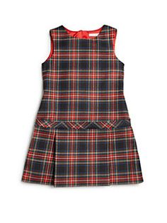 Dolce & Gabbana - Tartan Check Dress para criança e pequena menina African Dresses For Kids, Little Girl Outfits, Toddler Girl Dresses, Kids Outfits, Baby Girl Frocks, Frocks For Girls, Kids Frocks, Baby Girl Dress Patterns, Baby Dress