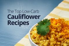 low-carb cauliflower recipes