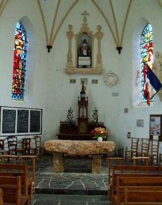 Chapelle Notre-Dame de Kéranroux à Bréhat. Bretagne