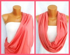 Great idea! Nursing Cover/ Tube Nursing scarf / Breastfeeding by VesyScarves, $17.99