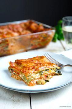 Gemüse-Lasagne mit Spinat: Amore Italia - Madame Cuisine Easy Dinner Recipes, Pasta Recipes, Easy Meals, Cooking Recipes, Lasagna Recipes, Meatball Recipes, Appetizer Recipes, Vegetable Recipes, Vegetarian Recipes