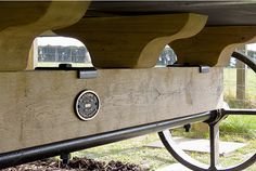 A handcrafted solid oak rolling chassis celebrates the heritage of our English shepherd Huts.