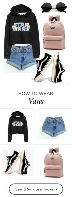 """• lazy Sundays •"" by anahoppe-1 on Polyvore featuring H&M, Madewell, Vans and Hoodies"