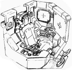 inside a robot cockpit controls - Google Search