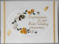 Golden Wedding Anniversary Gifts New Zealand : ... anniversary cards anniversary ideas wedding anniversary embossing