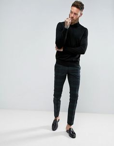 Noose & Monkey - Pantalon de costume super skinny à carreaux