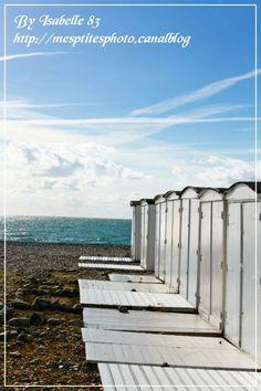 Cabanes présentes sur la plage du Havre à partir du mois d'avril