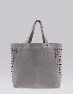 Bershka Serbia - Handbag with side studs  4000