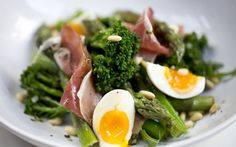 Speedy weeknight suppers: asparagus and parma ham salad recipe - Telegraph