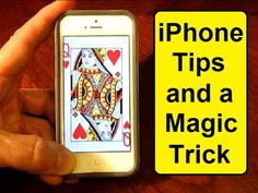 Here are several handy iPhone tips and a neat magic trick.