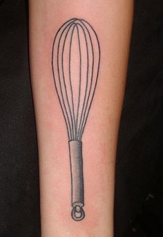 If I ever do get a tattoo, the likelihood of it being culinary related is extraordinarily high. And it's also pretty likely that it will include a whisk.