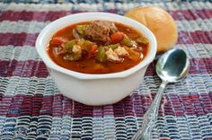 Simple, Clean, and Homemade · Stuffed Pepper Soup
