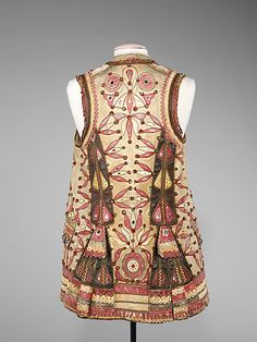 Jacket Date: 1840–70 Culture: Hungarian Medium: leather, mica, metal