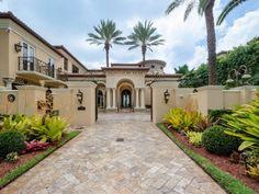 Waterfront Mansion in Miami Beach, Florida