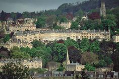 Georgian buildings of Bath, England