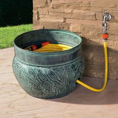 Gartenschlauch aufgewahren